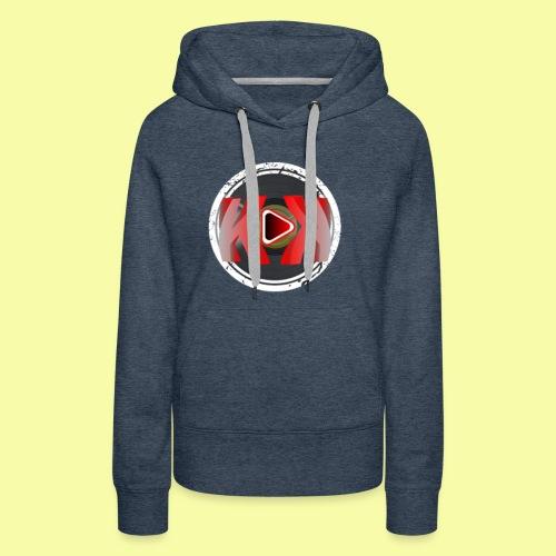 ELEKTRUNK LOGO - Sweat-shirt à capuche Premium pour femmes