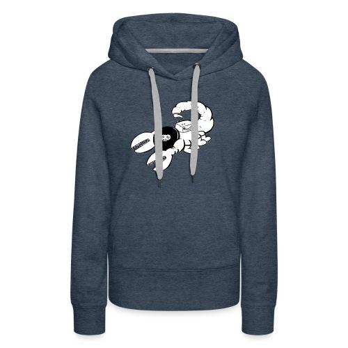 Space Scorpions?! (Black and White) - Women's Premium Hoodie