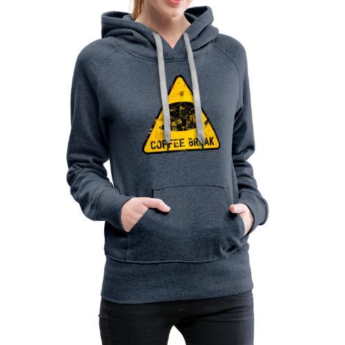 COBR01 - Felpa con cappuccio premium da donna