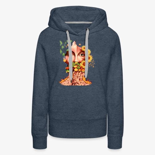 Fruit & Flowers - Women's Premium Hoodie