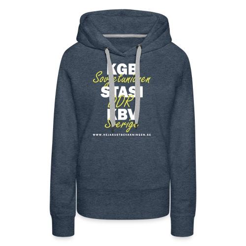 KGB STASI KBV - Premiumluvtröja dam