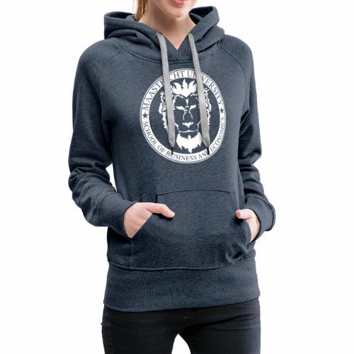 SBE Lion White - Women's Premium Hoodie