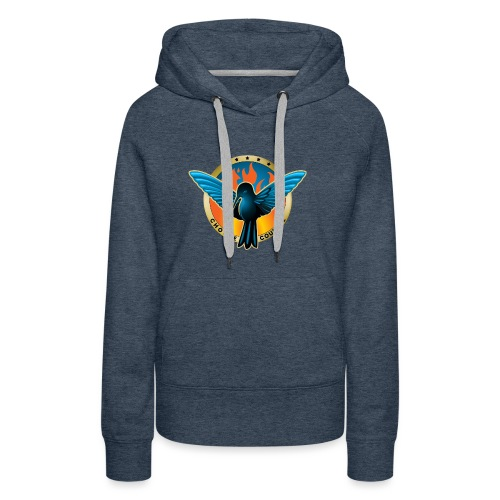 Choose Courage - Fireblue Rebels - Women's Premium Hoodie