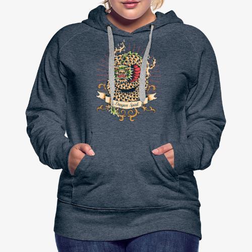 Esprit de dragon - Sweat-shirt à capuche Premium pour femmes