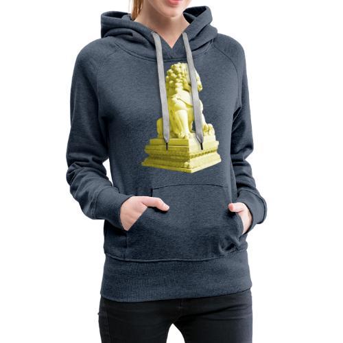 Fu Hund Tempelwächter Wächterlöwe Buddha China - Frauen Premium Hoodie