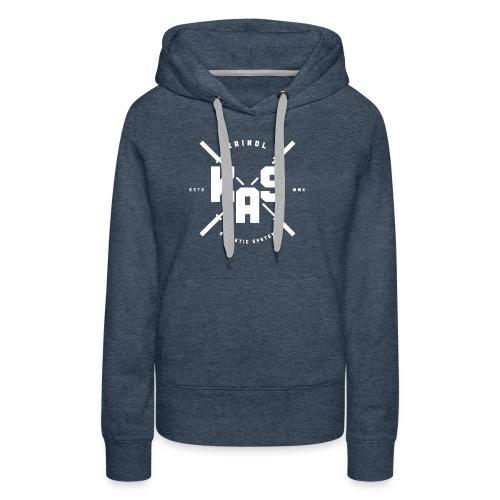 KAS Plain white Logo - Frauen Premium Hoodie