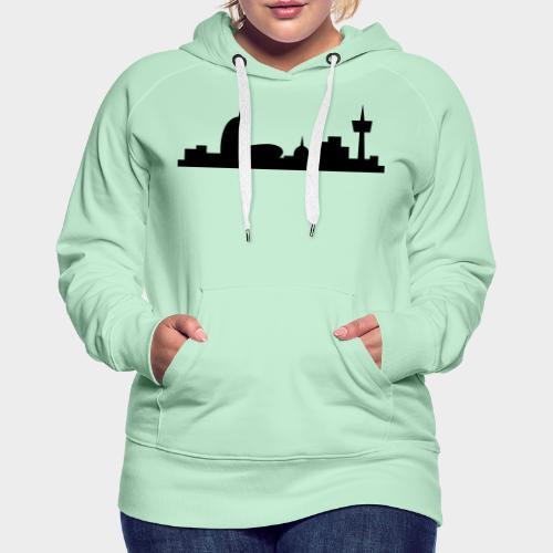 Bremerhaven Skyline V2016 Full - Frauen Premium Hoodie