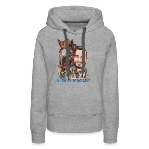 Pferde-Hoschi Kollektion hinten - Frauen Premium Hoodie