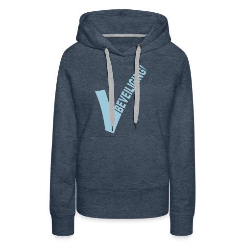logo beveiliging 6cm - Vrouwen Premium hoodie