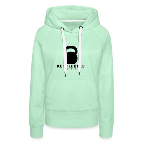 Kettlebell Deurne Logo Zwart - Vrouwen Premium hoodie