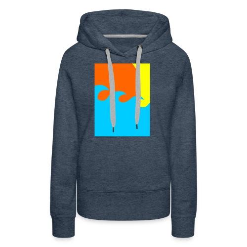sun - Vrouwen Premium hoodie