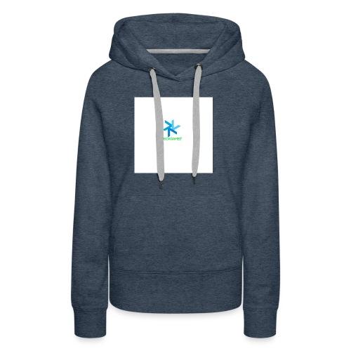DeoxGames Camiseta - Sudadera con capucha premium para mujer