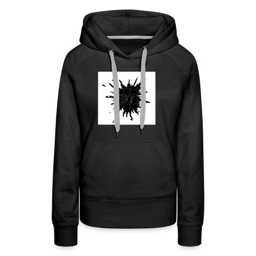 Blacktuber Splash Logo - Vrouwen Premium hoodie