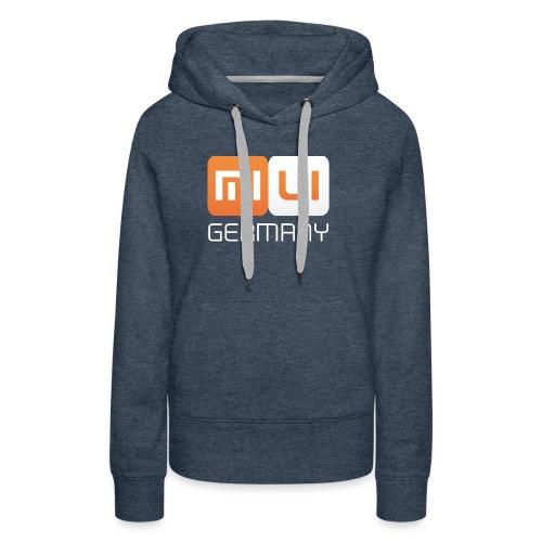 MIUI Ger Logo Kompakt png - Frauen Premium Hoodie