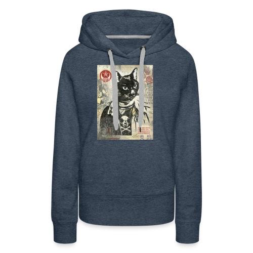 Cat Graffity - Frauen Premium Hoodie