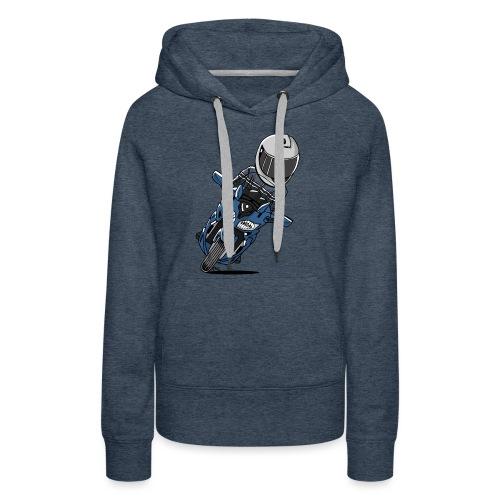 0790 FJR PhantomBlue - Vrouwen Premium hoodie