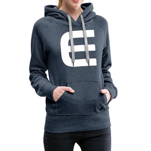 E - White - Frauen Premium Hoodie