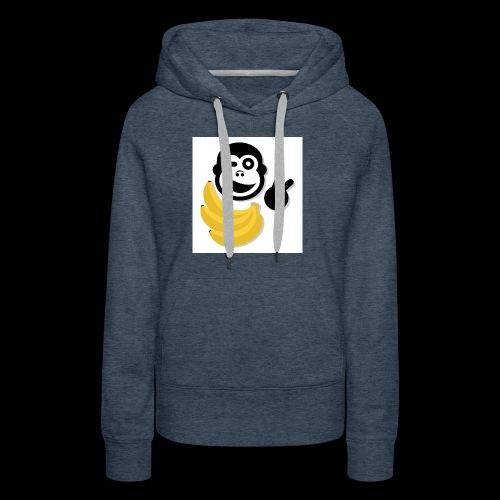 Treue Bananen Logo - Frauen Premium Hoodie