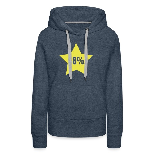 48% in Star - Women's Premium Hoodie