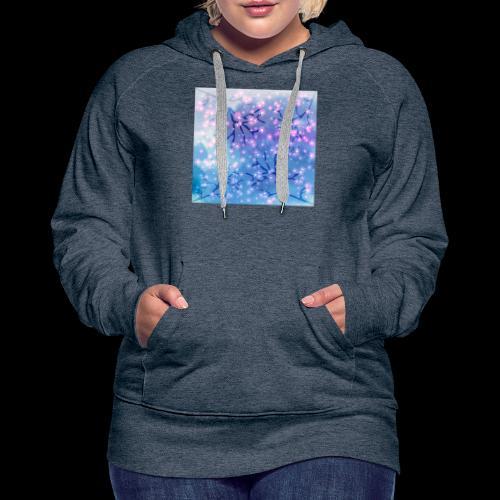 Watercolour blossoms - Women's Premium Hoodie
