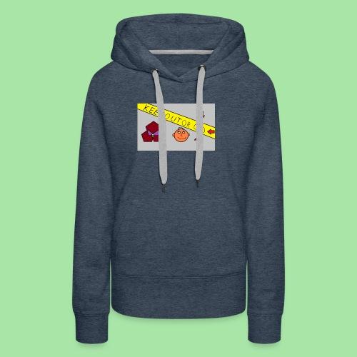 CONSERVER OU OD - Sweat-shirt à capuche Premium pour femmes