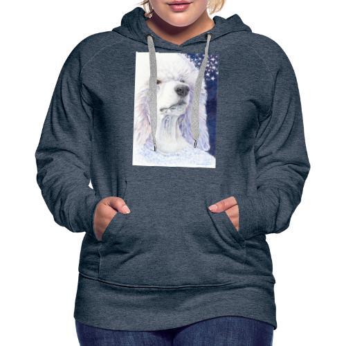 Poodle DreamDog - Dame Premium hættetrøje