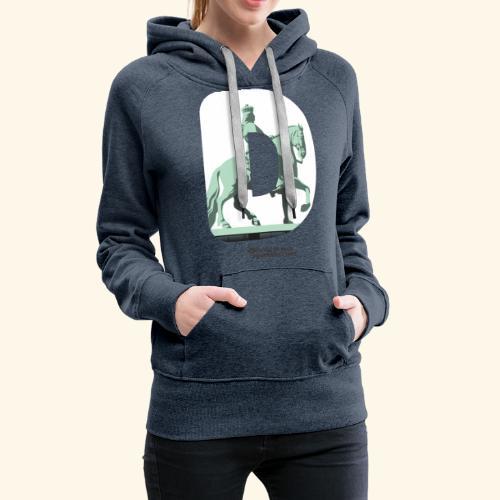 Düsseldorf T-Shirt Jan Wellem D weiß - Frauen Premium Hoodie