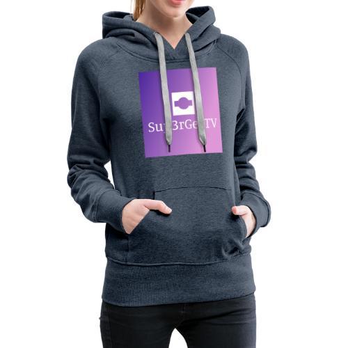Sup3rGee - Dame Premium hættetrøje