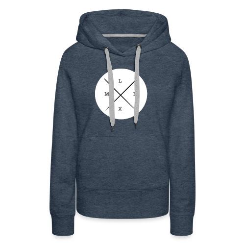 logo_-_copie-page-001 - Sweat-shirt à capuche Premium pour femmes