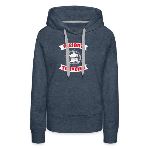 NISSART TRAVELER - Sweat-shirt à capuche Premium pour femmes