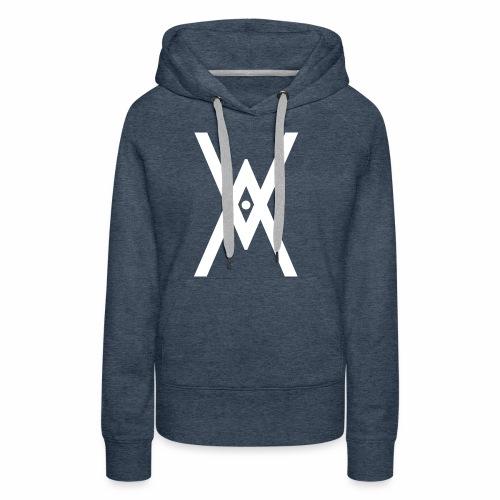 V!RTUΛLS ΞSPORT 1er série - Sweat-shirt à capuche Premium pour femmes