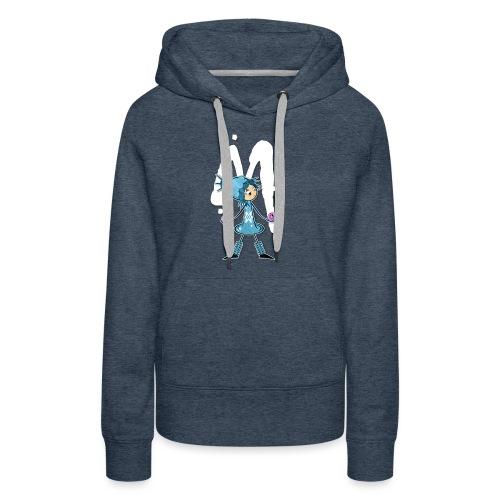 FUYU M - Sweat-shirt à capuche Premium pour femmes