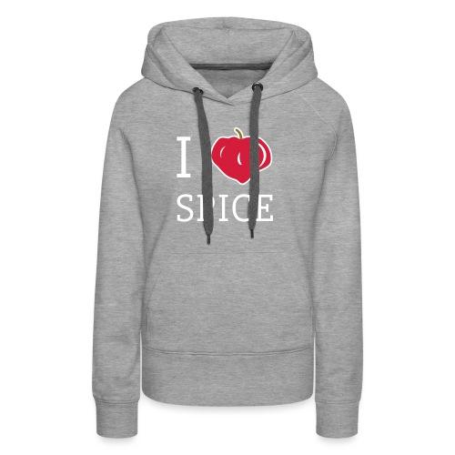 i_love_spice-eps - Naisten premium-huppari