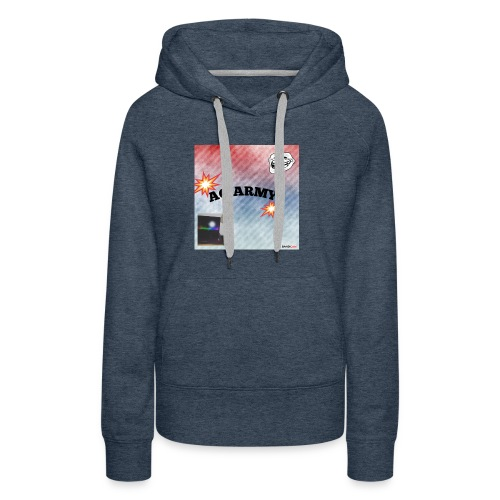 AG ARMY BG IS HERE!!!!!!!!!!!!!!! - Sweat-shirt à capuche Premium pour femmes