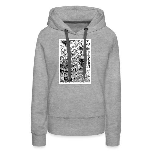 Sea Monsters T-Shirt by Backhouse - Women's Premium Hoodie