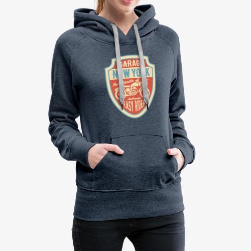 Garage New York - Sweat-shirt à capuche Premium pour femmes