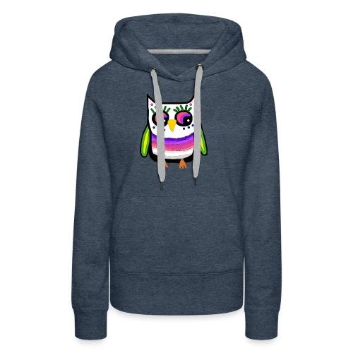 Colorful owl - Women's Premium Hoodie