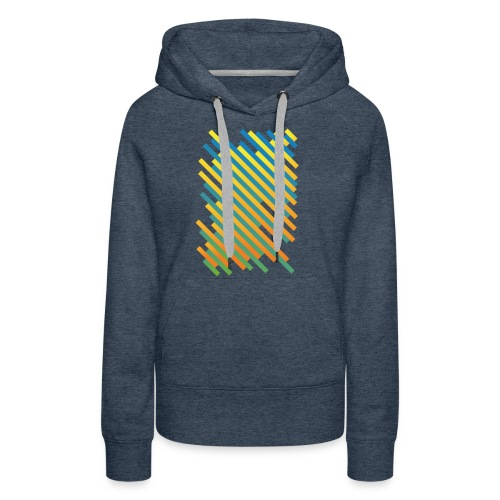Stripes - Frauen Premium Hoodie