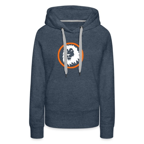 Absogames white lion unisex hoodie - Women's Premium Hoodie