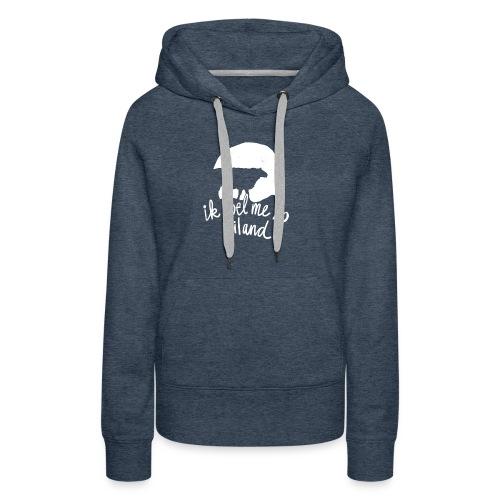 Ik voel me zo eiland - Vrouwen Premium hoodie