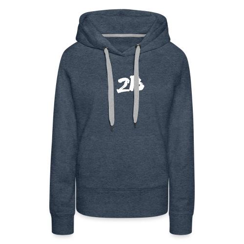 Sans titre-2.png - Sweat-shirt à capuche Premium pour femmes