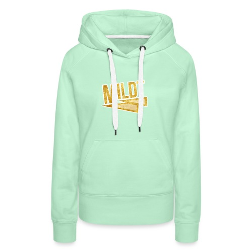 MILDT Gouden Kids Shirt - Vrouwen Premium hoodie