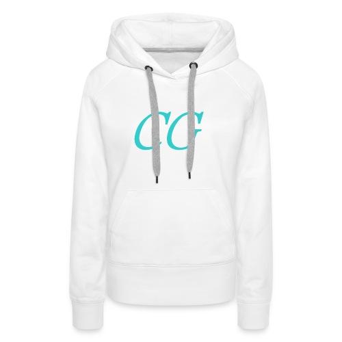 CG - Sweat-shirt à capuche Premium pour femmes