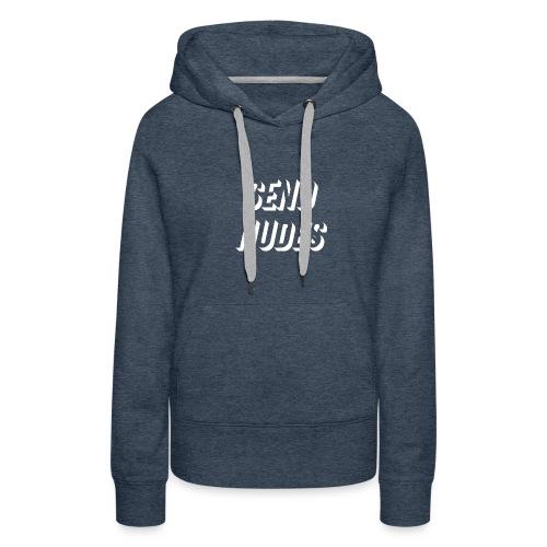Send Nudes - Sweat-shirt à capuche Premium pour femmes