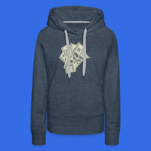 more money - Women's Premium Hoodie