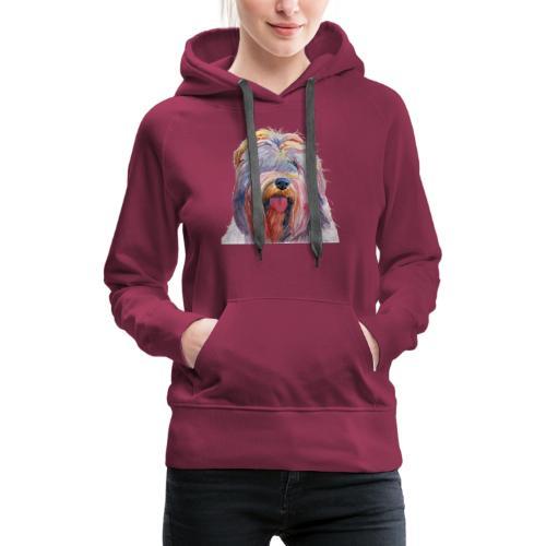 schapendoes - Dame Premium hættetrøje