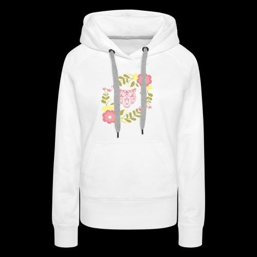 Tee-shirt TIGRE - Sweat-shirt à capuche Premium pour femmes