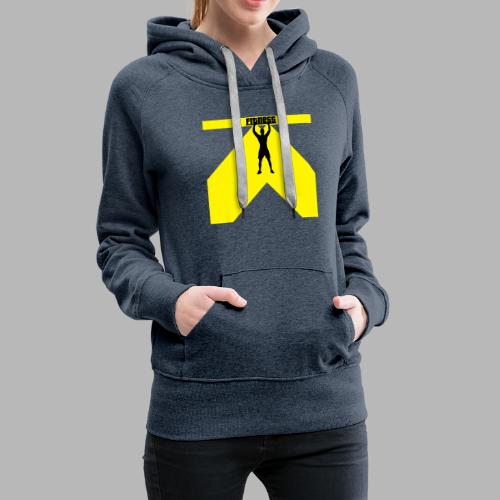 Fitness Lift - Frauen Premium Hoodie