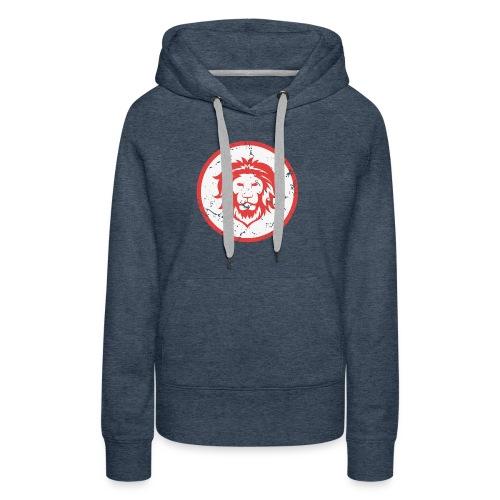 Löwe Vintage Symbol - Frauen Premium Hoodie