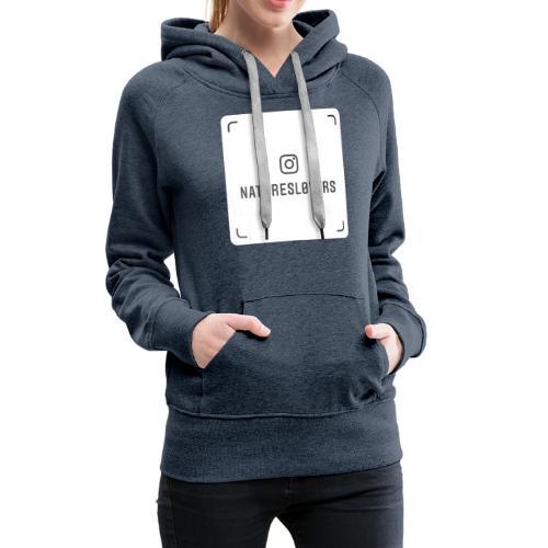 naturesl0vers nametag - Women's Premium Hoodie